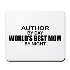 World's Best Mom - Author Mousepad