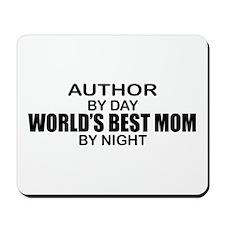 World's Best Mom - Author Mousepad