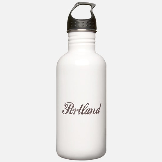 Vintage Portland Water Bottle
