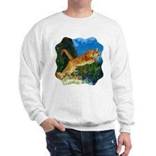 Leaping Cougar Sweatshirt
