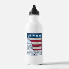 Vintage Washington Water Bottle