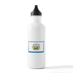 Vintage West Virginia Flag Water Bottle