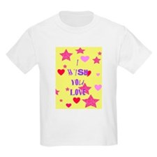 I wish you love Kids T-Shirt