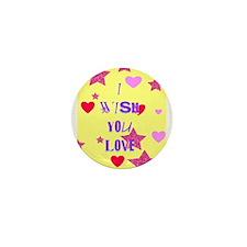 I wish you love Mini Button