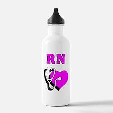 RN Nurses Care Water Bottle
