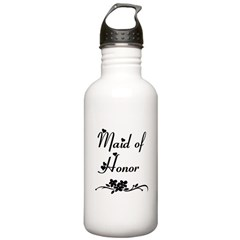 Classic Maid of Honor Water Bottle