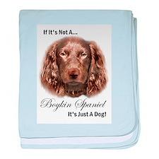 Boykin Spaniel baby blanket