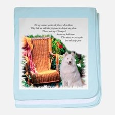 Samoyed Art baby blanket