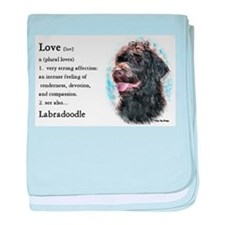 Labradoodle Gifts baby blanket