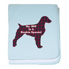 BFF Boykin Spaniel baby blanket