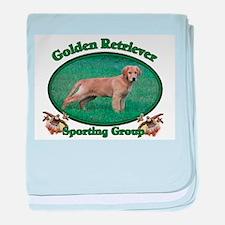 Golden Retriever_Sporting Bre baby blanket