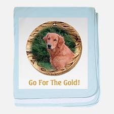 Golden Retriever Gifts baby blanket