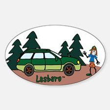 Lesbaru and Leslie Wilderness Decal