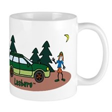 Lesbaru and Leslie Wilderness Mug