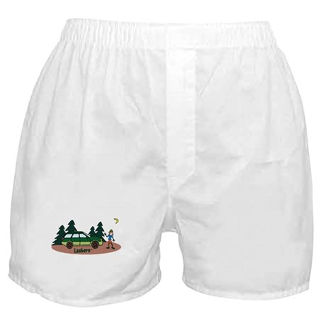 Lesbaru and Leslie Wilderness Boxer Shorts