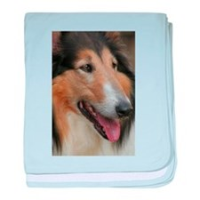 Collie Photography baby blanket