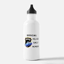 Police Family Member Water Bottle