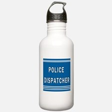 Police Dispatcher Blues Water Bottle