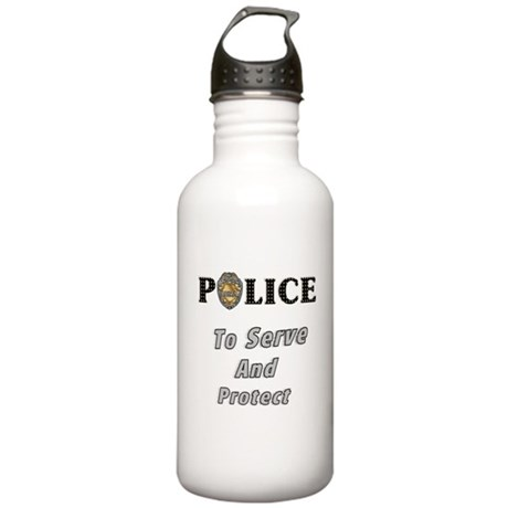 Police Service Stainless Water Bottle 1.0L