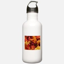 Thanksgiving Autmn Leaves Water Bottle