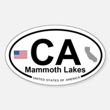 Mammoth Lakes Decal