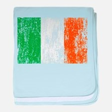 Irish Flag Pattys Drinking baby blanket