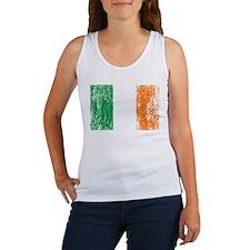 Irish Flag Pattys Drinking Women's Tank Top