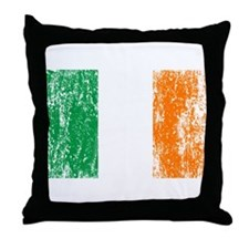 Irish Flag Pattys Drinking Throw Pillow