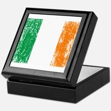 Irish Flag Pattys Drinking Keepsake Box