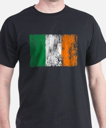 Irish Flag Pattys Drinking T-Shirt
