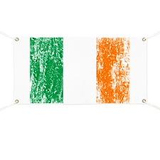 Irish Flag Pattys Drinking Banner