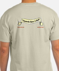 2-Sided Tripawds Have A Ball T-Shirt