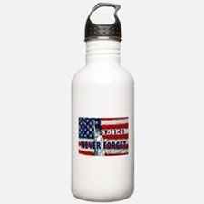 9-11-01 Never Forget Water Bottle