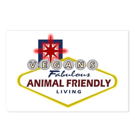 Vegas Vegan Postcards (Package of 8)
