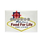 Vegas Foodie Rectangle Magnet (10 pack)