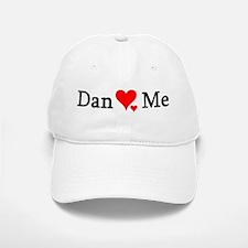 Dan Loves Me Baseball Baseball Cap