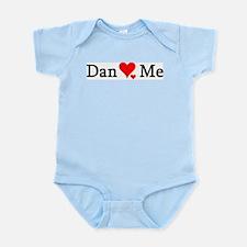 Dan Loves Me Infant Creeper