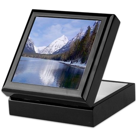 Lake McDonald Keepsake Box