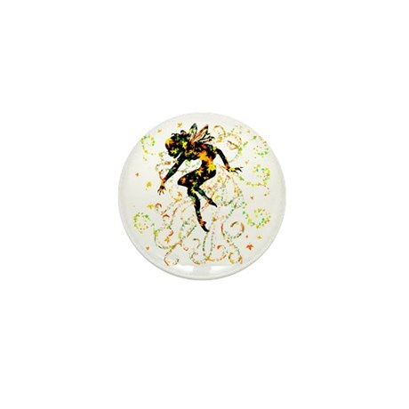 Fall Fairy Mini Button