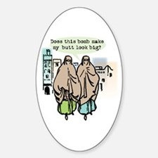 Does this bomb make....? Sticker (Oval)