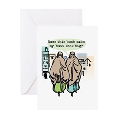 Does this bomb make....? Greeting Card