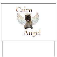 Cairn Terrier Angel Yard Sign