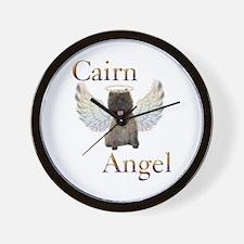 Cairn Terrier Angel Wall Clock