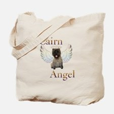 Cairn Terrier Angel Tote Bag
