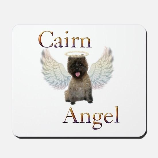 Cairn Terrier Angel Mousepad