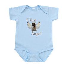 Cairn Terrier Angel Infant Bodysuit