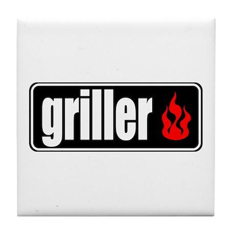 Flame Griller Tile Coaster