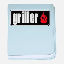 Flame Griller baby blanket