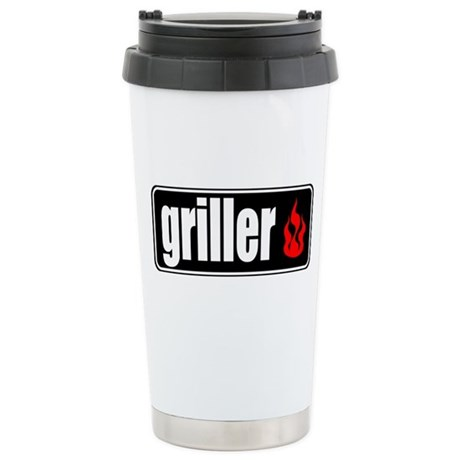 Flame Griller Stainless Steel Travel Mug
