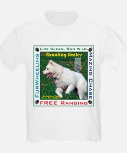 "Drooling Smiles ""A Chase Whee T-Shirt"